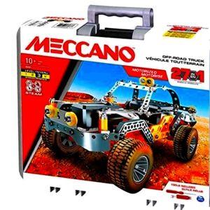 Meccano - 25-in-1 Model - Off Road Racer Building